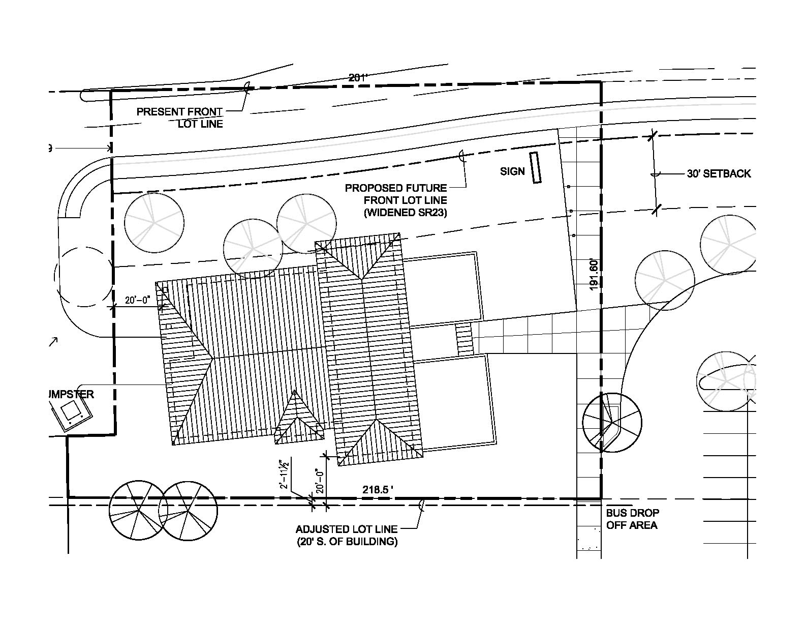 Site plan of house for Home site plan